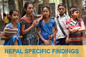 nepal specific findings